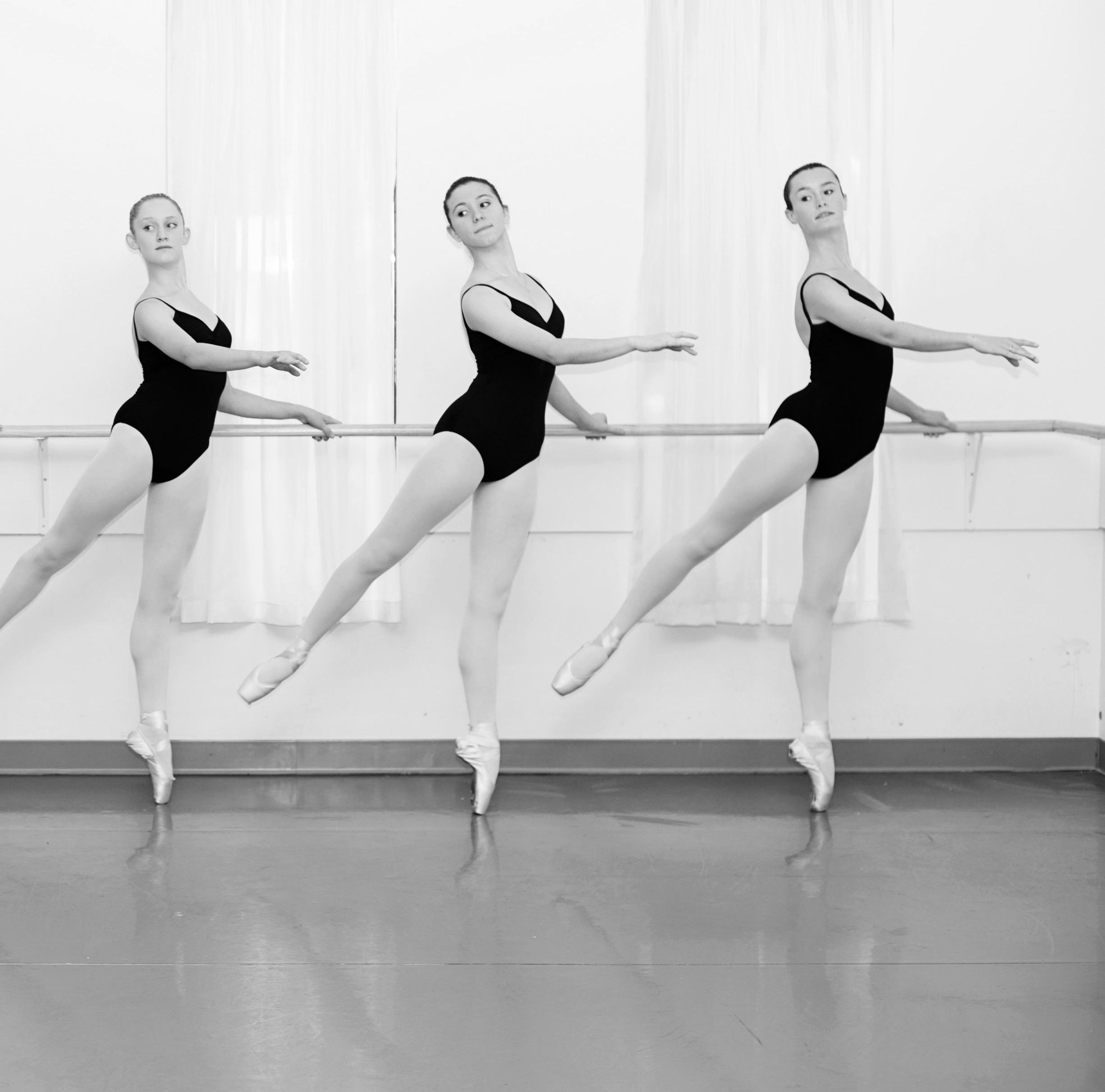 Как тренируются балерины видео сэйнт чехия