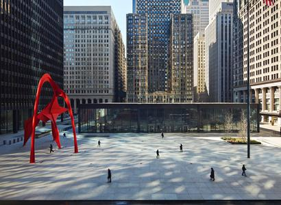 Federal Plaza Square See Chicago Dance