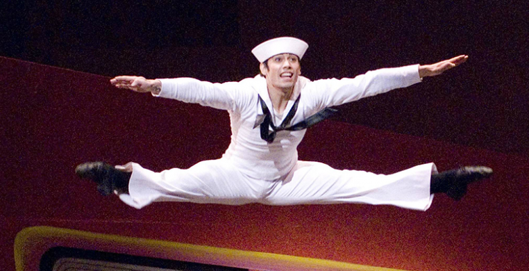 ABT's Herman Cornejo in Fancy Free by Gene Schiavone