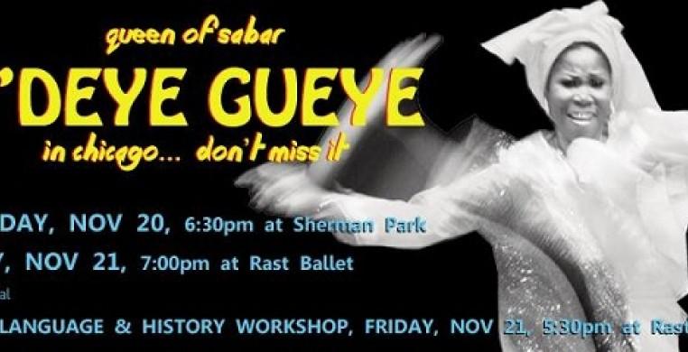 Ayodele Presents Sabar Dance with N'Deye Gueye - November 20, 2014