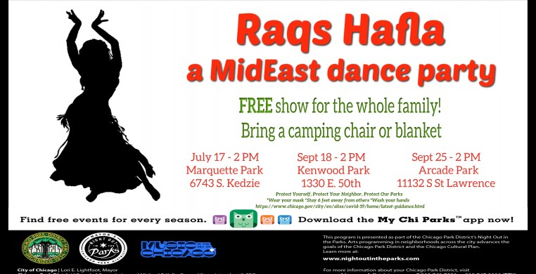 Night out in the Parks Raqs Hafla a MidEast Dance Party 2021