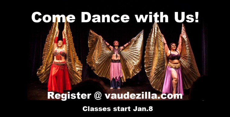 Jan/Feb 2020 Bellydance Repertory Class with Phaedra