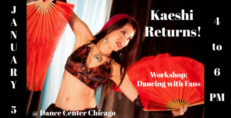 Kaeshi Chai Fan Dancing Workshop