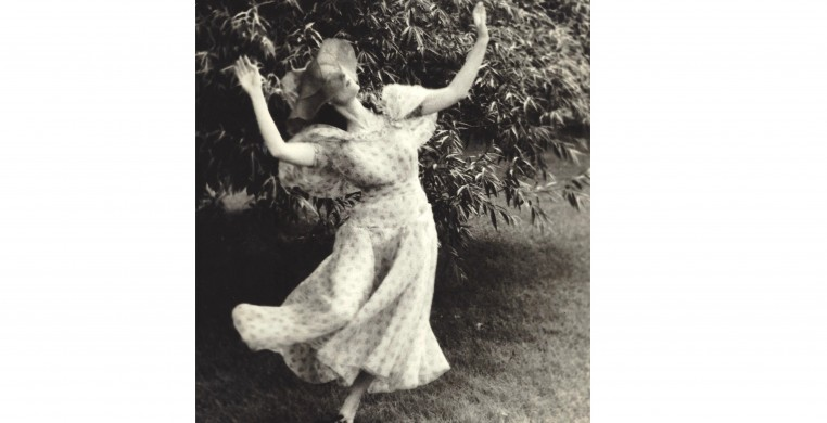 Sheaf of Dreams. Pictured Sybil Shearer. Photo by Helen Balfour Morrison Courtesy of the Morrison-Shearer Foundation