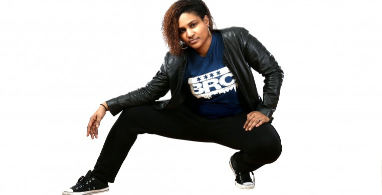 Hip Hop teacher, Tanji Harper