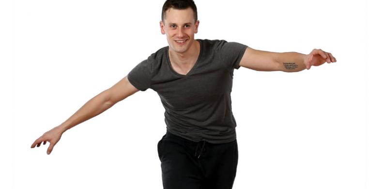 Tap teacher, Tristan Bruns