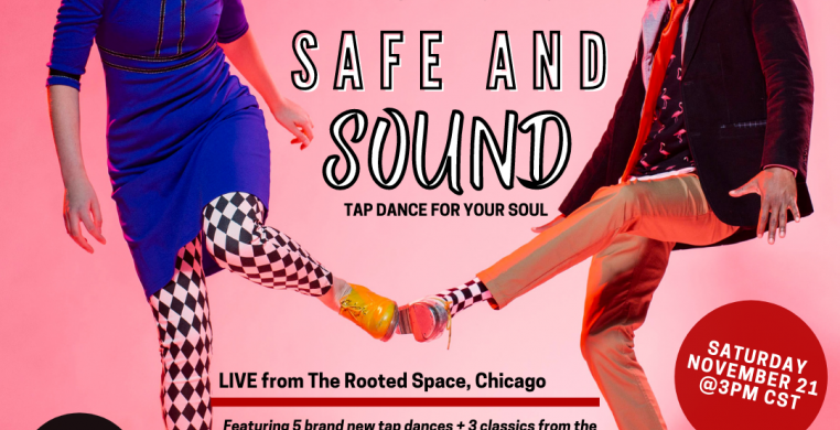 Soul LIVE from the Rooted Space! 5 brand new tap dance (and 3 classics) from the dancers of CTT and the JC Brooks & Underwater Inferno Band. Available to stream globally!