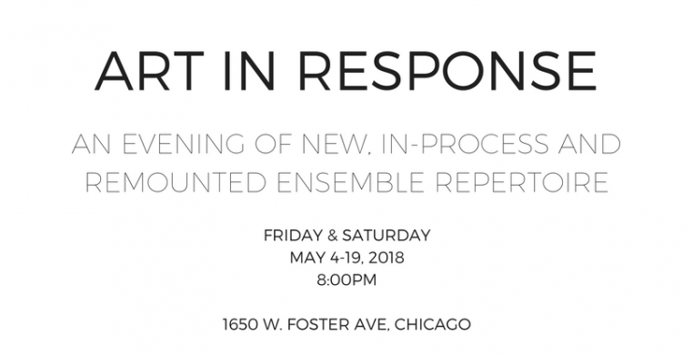 Chicago Danztheatre Ensemble Presents Art In Response, May 4-19, 8pm