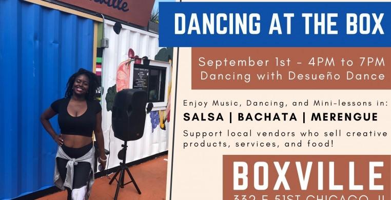 Dancing at the Box with Desueno