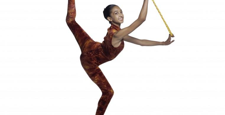 Evanston Dance Ensemble member Elia Ton-That in Saturn