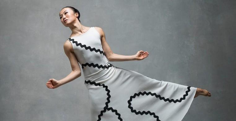 Graham Technique with Peiju Chien-Pott as part of Lucky Plush Productions' Virtual Dance Lab
