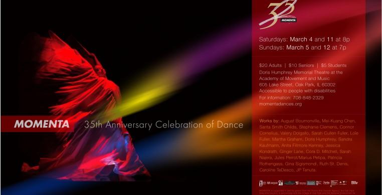 35th Anniversary Concert flyer