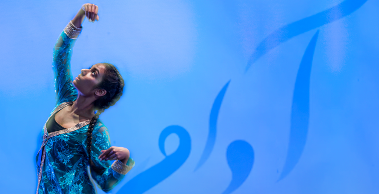 WITH RUMI lies at the intersection of spirituality and design. Pranita Nayar's new dance work explores interpretations of the beloved Sufi poet's prolific work on love.