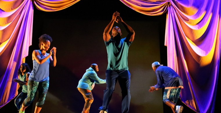 Marc Bamuthi Joseph / The Living Word Project /peh-LO-tah/ Photo: Bethanie Hines Photography