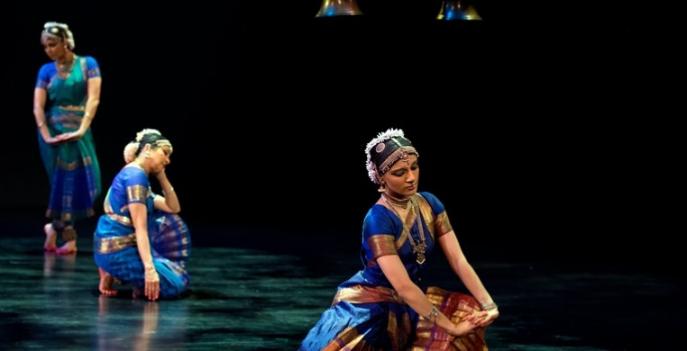 The Song of the Jasmine Ashwini Ramaswamy, Ranee Ramaswamy & Aparna Ramaswamy Photo: Alice Gebura