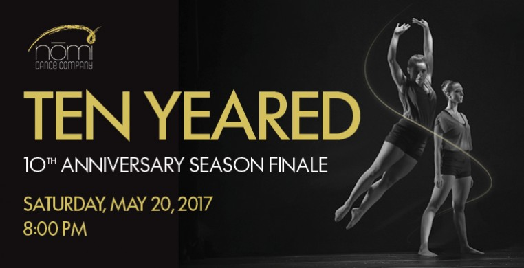 Nomi Dance Company presents TEN YEARED