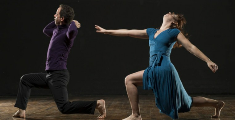 RE|Dance Group; Lucy Vurusic-Riner, Michael Estanich; Photo by William Frederking