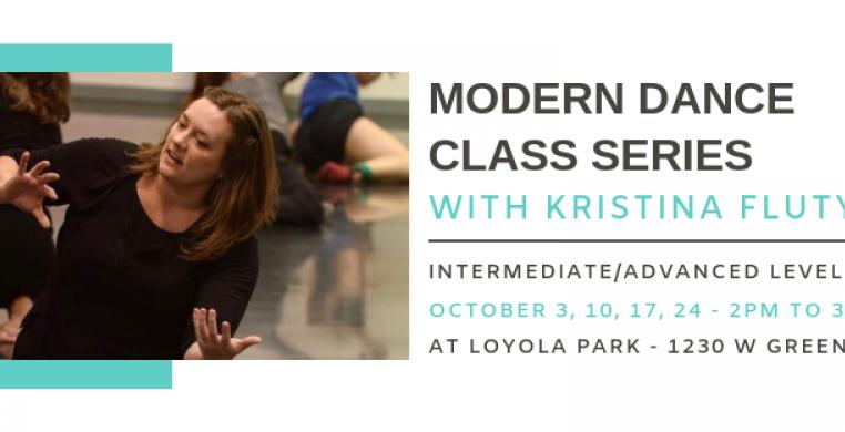 Modern Dance Class with Kristina Fluty