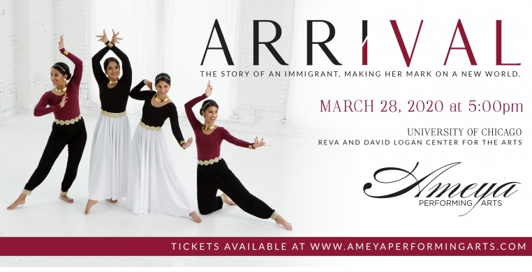 Ameya Performing Arts presents ARRIVAL