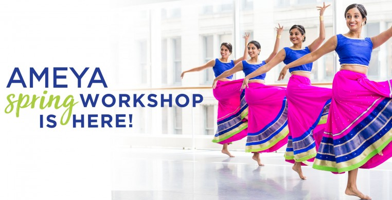 Ameya Performing Arts Spring Bollywood Dance Workshop, April 22, 2018