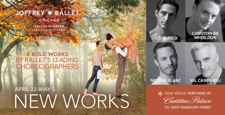 "The Joffrey Ballet's ""New Works"""
