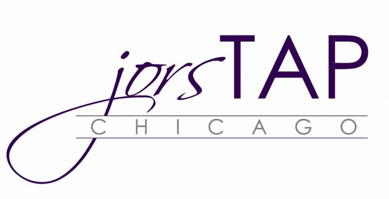 This is the logo for the nonprofit dance company jorsTAP chicago. Our aim is to challenge audiences to engage in a gamut of emotions by exploring new ways of moving, creating, and innovating through the accessible art form of American tap dance.