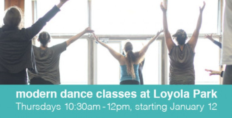 Modern Dance Classes with Synapse at Loyola Park