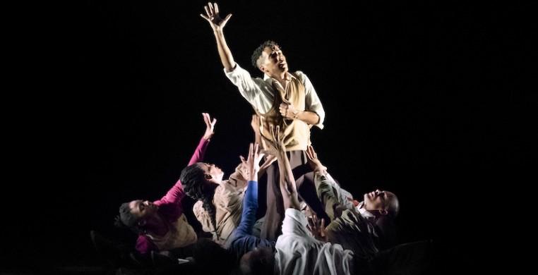 """AAADT in Rennie Harris's """"Lazarus,"""" photo by Paul Kolnik"""
