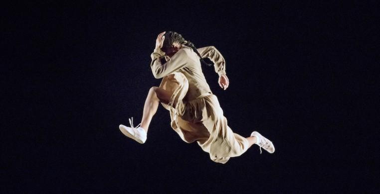 """AAADTs Jacqueline Green in Rennie Harris's """"Lazarus,"""" Photo by Paul Kolnik"""