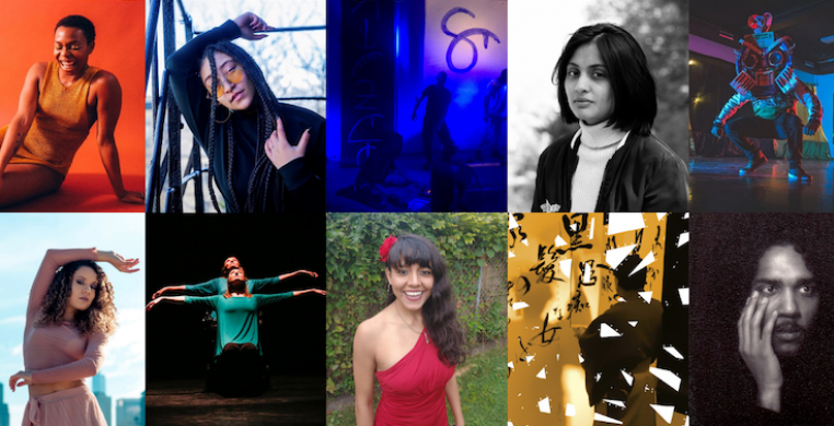Ten dance artists, pictured above, were recently selected by the Chicago Dancemakers Forum to develop new dance works that use digital, online, mobile and/or virtual technologies.
