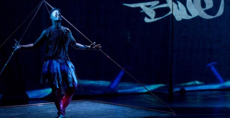 "D. Sabela Grimes in ""Electrogynous."" Photo by Gema Galiana"