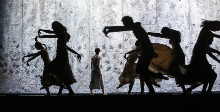 "English National Ballet in Akram Khan's ""Giselle"" (photo by Kyle Flubacker)"