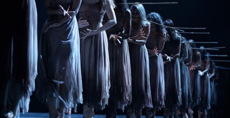 English National Ballet in Akram Khan's 'Giselle,' photo by Laurent Liotardo