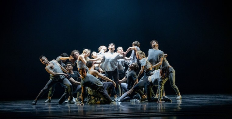 "Fernando Duarte and ensemble in Andrea Walker's ""Home,"" Photo by Cheryl Mann"