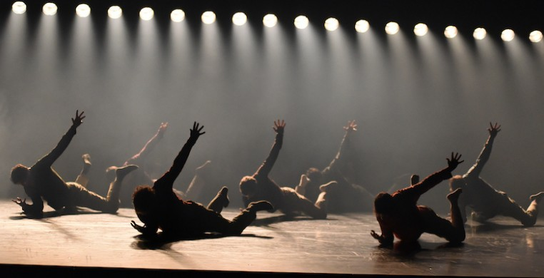 "Gauthier Dance in Hofesh Shechter's ""Uprising,"" photo by Regina Brocke"