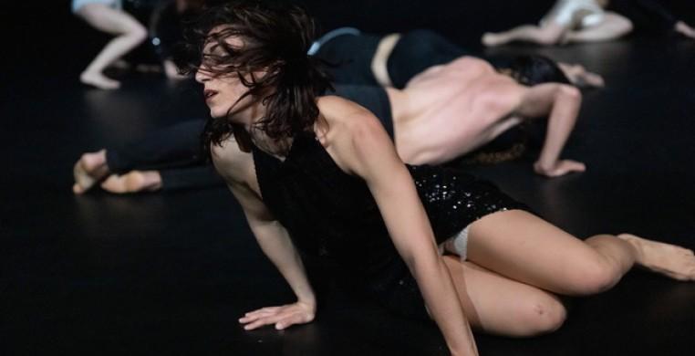 """A scene from Hannah Ma's """"Onda,"""" on view at the 23rd JOMBA! Contemporary Dance Experience. (Handout/courtesy Hannahmadance)"""