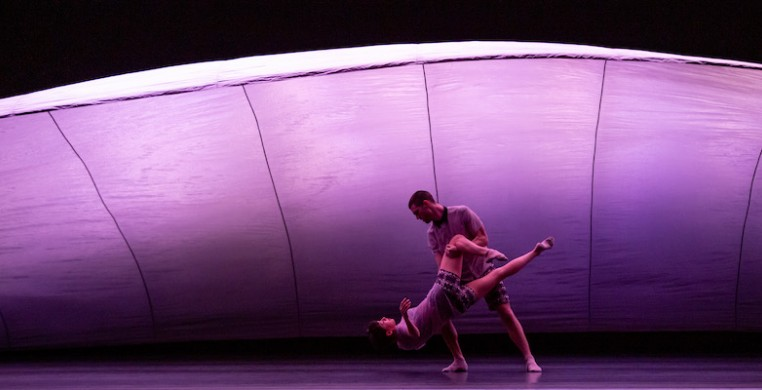 "Hubbard Street Dance Chicago in ""Cloudline,"" photo by Cheryl Mann"