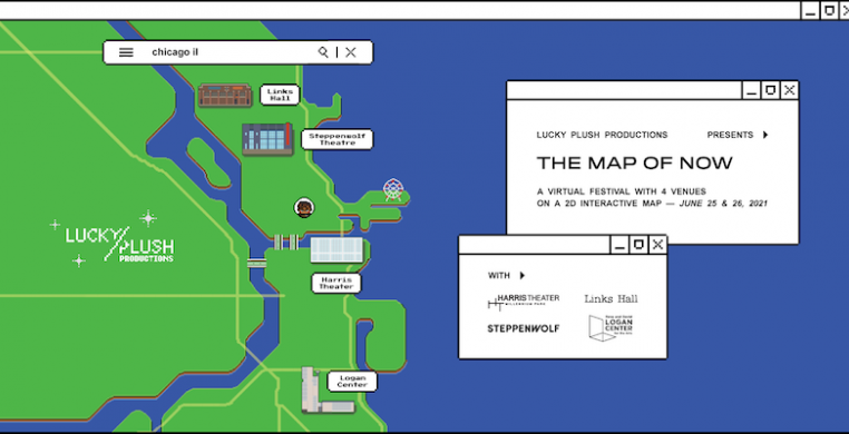"""""""The Map of Now"""" runs June 25-26 online. Map design by Brenda Wu"""