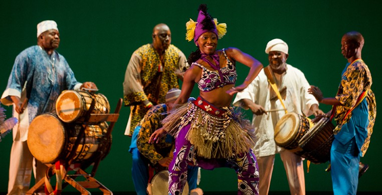 Muntu Dance Theatre (pictured at the company's 2012 gala) will revive DanceAfrica in 2022 as part of its 50th anniversary season. Image by Marc Monaghan
