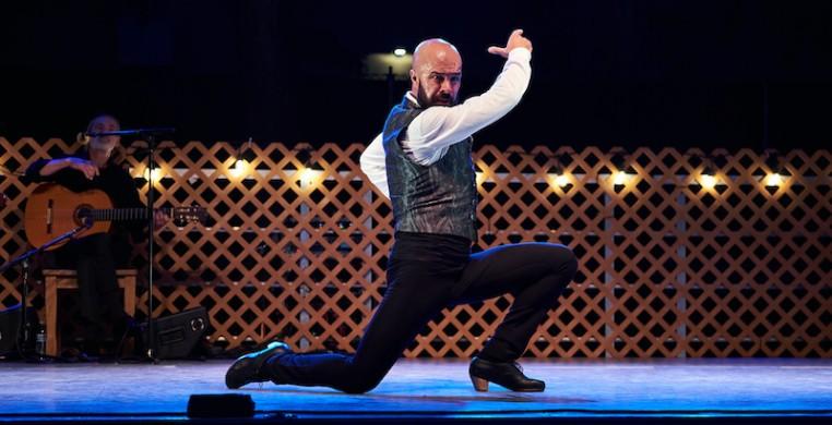 """Nino de los Reyes in """"Farruca"""" (World Premiere) choreographed by de los Reyes. Photo by Joel Maisonet"""