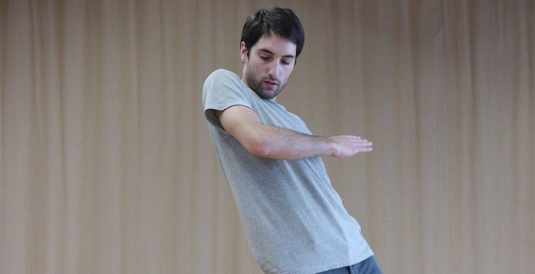 French choreographer Noé Soulier. Photo by Chiara Valle Vallomini