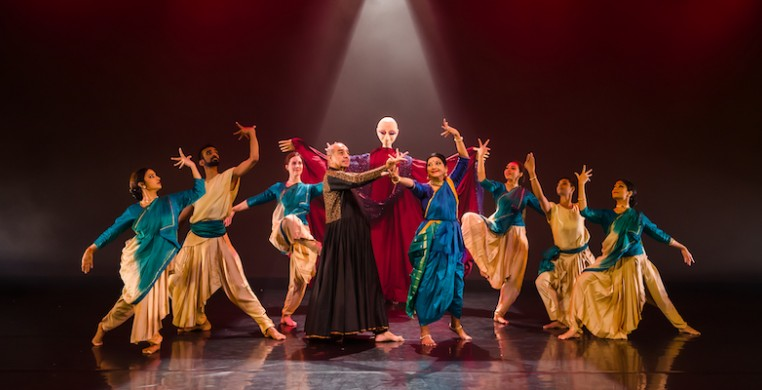 "Natya Dance Theatre in ""Inai: The Connection."" Photo by Ravi Ganapathy."