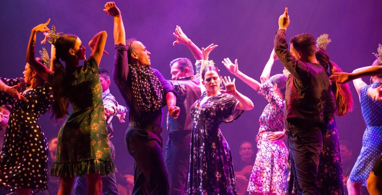 """Ensemble Español, seen here in """"Triana,"""" returns to live performance June 18-20. Photo by Dave Suarez"""