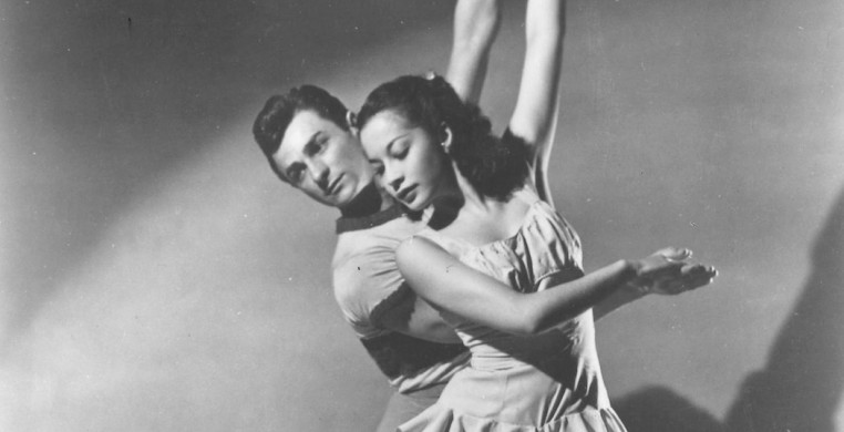 "Ruth Ann Koesun and John Kriza in Michael Kidd's ""On Stage"" 1947"