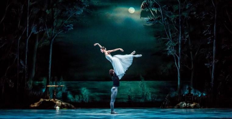 "Victoria Jaiani and Temur Suluashvili in ""Giselle"" (photos by Cheryl Mann)"