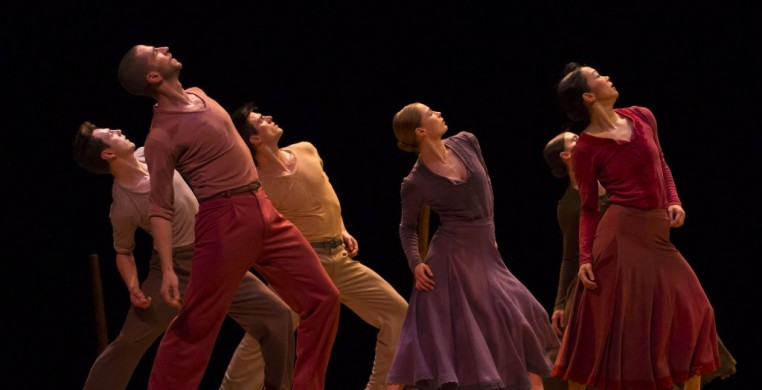 "Hubbard Street Dance in Nacho Duato's ""Jardi Tancat"" photo cr.: Todd Rosenberg"
