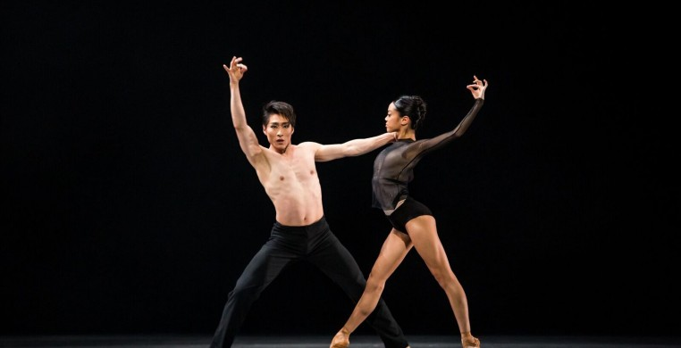 """Yoshihisa Arai and Jeraldine Mendoza in """"Infra"""" (photo cr.: Cheryl Mann)"""