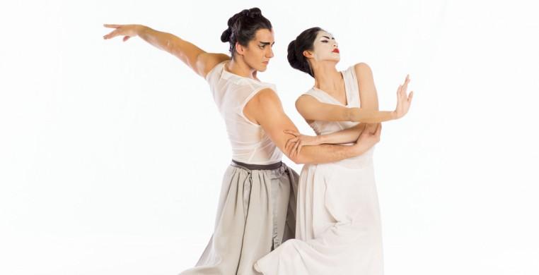 Christine Rocas & Miguel Blanco in RaKU (photo credit: Cheryl Mann)