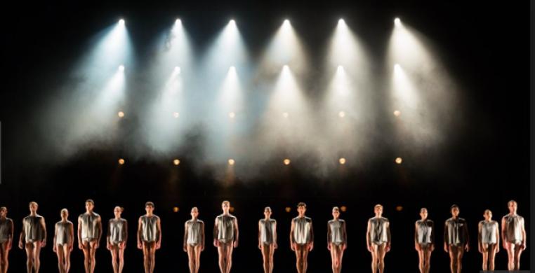 "Miami City Ballet in Brian Brooks' ""One Line Drawn"""