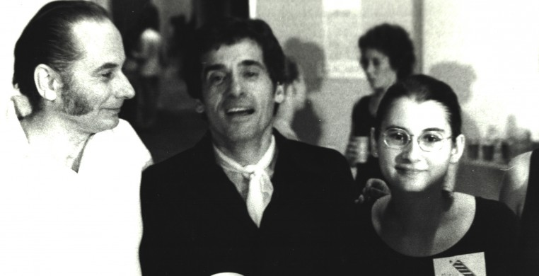 Charles Grass, Peter Gennaro, and Marie